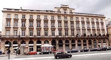 Arc grand h tel de bordeaux place de la comedie for La boutique hotel de bordeaux