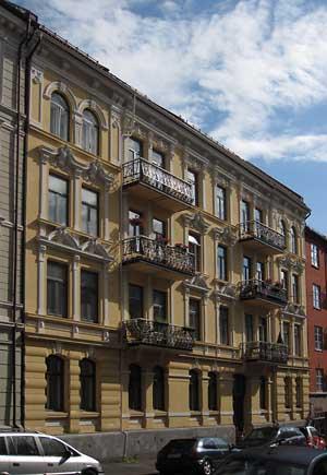 Stilig Arkitekturhistorie - Jacob Aalls gate 15 NB-14