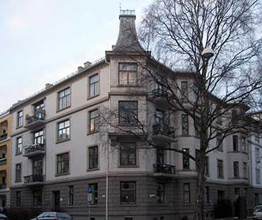 Fra mega Arkitekturhistorie - Waglekomplekset: Jacob Aalls gate 44 YD-08