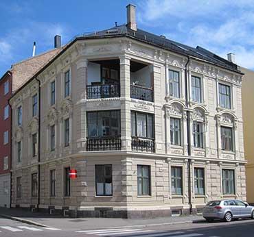 Svært Arkitekturhistorie - Jacob Aalls gate 9 NJ-65